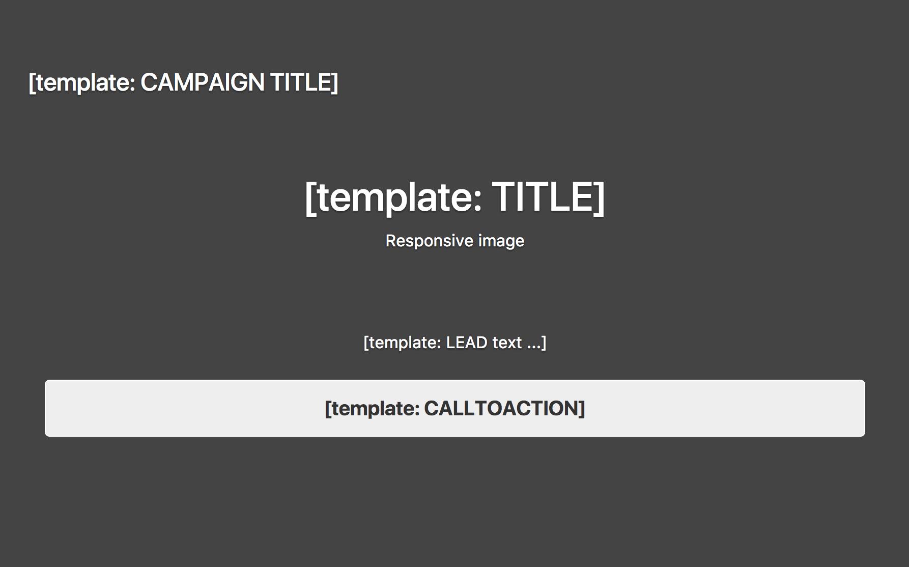 Campaign template